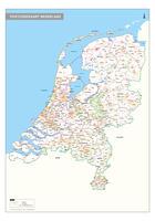 2-cijferige Postcodekaart Nederland