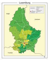 Digitale Postcodekaart Luxemburg