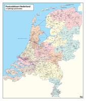 Digitale Postcodekaart Nederland