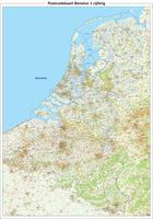 Postcodekaart Benelux