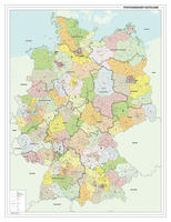 Digitale Postcodekaart Duitsland 1-2-3 cijferig 1391