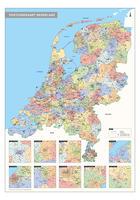 Postcodekaart Nederland