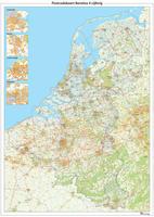 Digitale Postcodekaart Benelux 4-cijferig