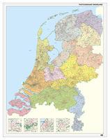 Digitale Postcodekaart Nederland 2-3-4 cijferig 1394