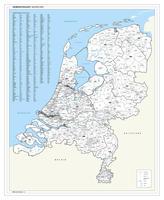 Digitale gemeentekaart van Nederland