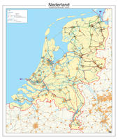 Digitale Kaart Nederland Hoogspanningslijnen