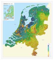 Digitale Hoog/laagkaart Nederland