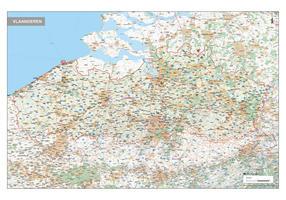 Vlaanderen Topografische Kaart