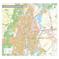 Postcodekaart Haarlem