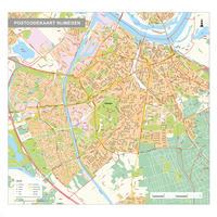 Postcodekaart Nijmegen