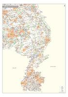 Digitale Postcode-/Gemeentekaart Limburg