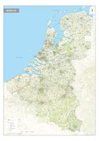 Postcodekaart Benelux 2- en 4-cijferig