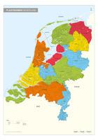 Complete plaatsnamenkaart van Nederland