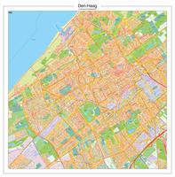 Digitale Postcodekaart Den Haag