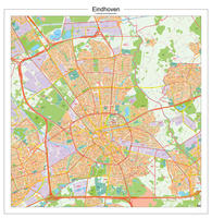 Digitale Postcodekaart Eindhoven