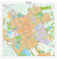 Digitale Postcodekaart Groningen