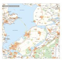 Flevoland Digitale Provinciekaart Staatkundig