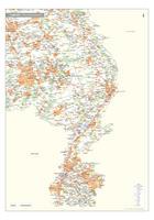 Limburg Provinciekaart Staatkundig