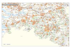 Noord-Brabant Digitale Provinciekaart Staatkundig