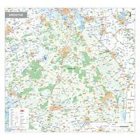 Digitale kaart Drenthe