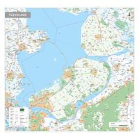 Provinciekaart Flevoland