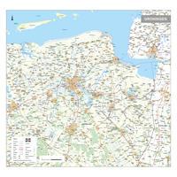 Provinciekaart Groningen