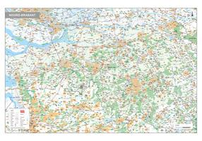 Provinciekaart Noord-Brabant