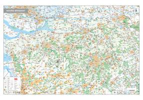 Digitale kaart Noord-Brabant