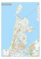 Digitale kaart Noord-Holland