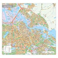 Digitale kaart Amsterdam