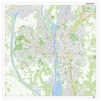 Kaart Maastricht