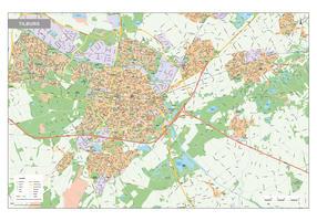 Digitale Kaart Tilburg