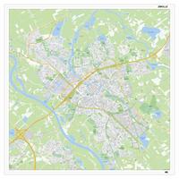 Digitale Kaart Zwolle 407DG