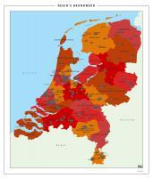 Digitale Kaart Nederland Brandweer Regio's