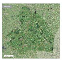 satellietbeeld Drenthe