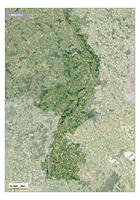 Satellietkaart Limburg