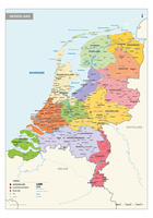 Schoolkaart Nederland