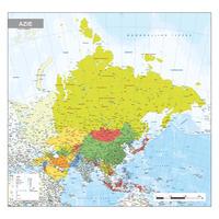 Azië Kaart Staatkundig