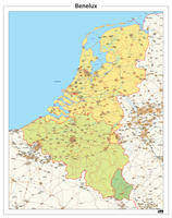 Digitale Beneluxkaart
