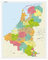 Benelux kaart