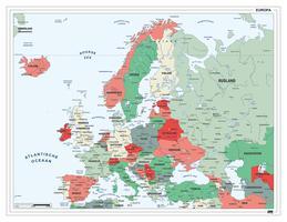 Europakaart Nederlandstalig