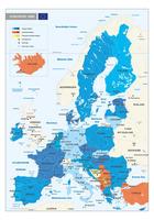 Europese unie kaart
