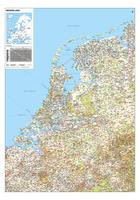 Strakke Nederlandkaart