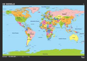 Wereld Schoolkaart