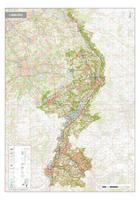 Topografische kaart Limburg 1:100.000