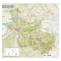Topografische kaart Overijssel 1:100.000