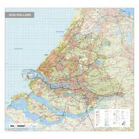 Topografische kaart Zuid-Holland