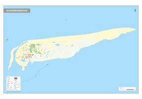 Digitale Schiermonnikoog kaart