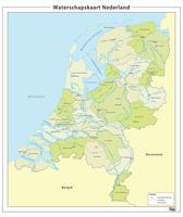 Waterschapskaart van Nederland