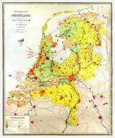 Schoolkaart Nederland 1951